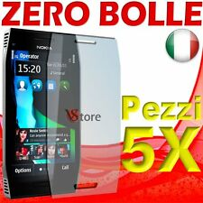 5 Pz Film For Nokia X7 Protector Save Screen LCD Display Films
