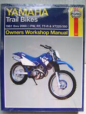 YAMAHA HAYNES MANUAL PW50 PW 50 80 PW80 RT100 RT180 RT