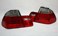 LED RÜCKLEUCHTEN HECKLEUCHTEN SET BMW E46 3er LIMO 01-05 ROT KLAR +LED BLINKER