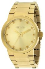 Nixon Cannon Gold-Tone Mens Watch A160502-00
