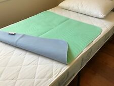 BRAND NEW WASHABLE INCONVENIENCE WATERPROOFED BED PAD PROTECTOR 86x91 CM