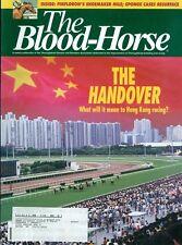 1997 The Blood-Horse Magazine #25: Hong Kong Handover/Triple Crown Business