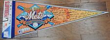 "New WinCraft World Champion New York Mets 25th Anniversary Full Size 30"" Pennant"
