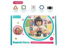 Magnetic Pieces Magnetbaukasten 46-teiliges Erweiterungsset