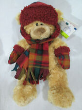 "St. Jude Hugfun TANNER 18"" Brown Plush Bear 2006 NWT"