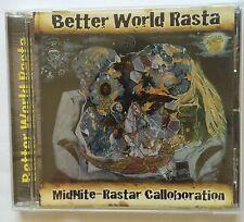 Midnite - Rastar - 'Better World Rasta' CD (2007) Roots Reggae Brand New - Rare!