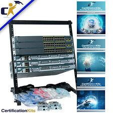 Cisco Ccna 200-301, Standard Plus Lab Kit Ios 15*Rack & 1 Yr Wty