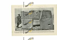 Monolithic Gate Of Ak-Kapana, Peru, Book Illustration (Print), 1909