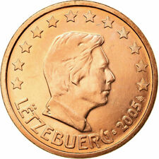 [#722425] Luxemburg, 5 Euro Cent, 2005, ZF, Copper Plated Steel, KM:77