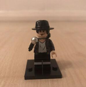 MICHAEL JACKSON FIGURE NOVELTY GIFT TOY SIMILAR TO LEGO BAD THRILLER