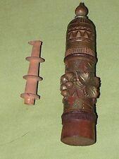ANCIEN PORTE AIGUILLE (EN BUIS ? ) A REPRISER  MERCERIE VIGNE RAISIN