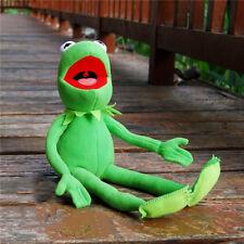 "2018 Kermit Sesame Street Full Body Kermit Frog Plush Puppet Toy Doll 16"" Gift"