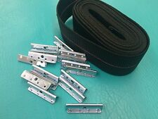Webbing Repair Kit Clips Fagas Strap Pirelli  Kofod Larsen Furniture Selig Chair