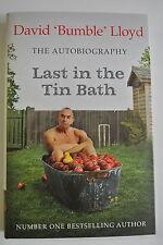 Book. Last in the Tin Bath: The Autobiography by David Lloyd (Hardback, 2000)