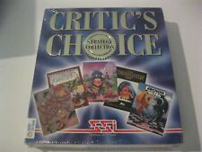 Critic's Choice Collection Archon Ultra, Serf City, new sealed CD ROM SSI