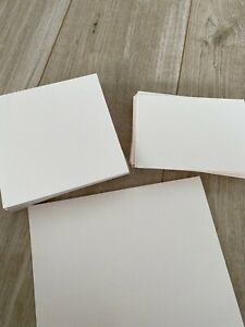 80 X Coral Pearlescent Cardstock ideal for Wedding/Event Invitations