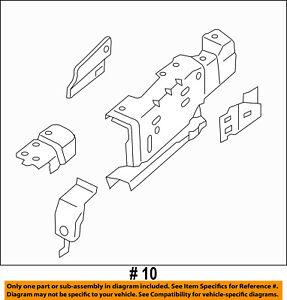 Lincoln FORD OEM 15-18 MKC FENDER-Rail Extension Left EJ7Z16019B