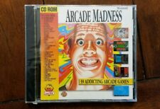 Arcade Madness: 39 Addicting Arcade Games (Mac 1996) Delirium, Bedlam & more!!