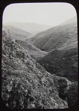 Glass Magic Lantern Slide GEOLOGY SURVEY NO11 C1890 PHOTO UK ?