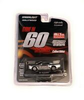 """Greenlight 1/64 """"Gone in 60 Second"""" 1967 Ford Mustang """"Eleanor"""" Chrome Chase"""