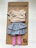 Sugar Mag Trendy top skirt set B blythe 1/6 scale Riley Betsy Licca Azone momoko