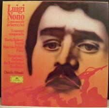 LUIGI NONO -Como Una Ola De Fuerza Y Luz/Entonces LP (Deutsche Grammophon, 1974)
