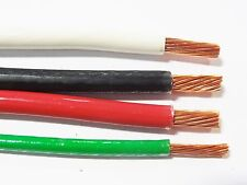 75' EA THHN THWN 6 AWG GAUGE BLACK WHITE RED COPPER WIRE + 75 10 AWG GREEN