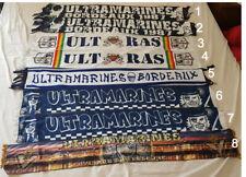 N°2 Écharpe ultras ultramarines Magic Fans bordeaux Football