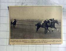 1927 Finish Of Cesarewitch Newmarket, Eagles Pride Beats St Reynard