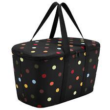 reisenthel® Kühltasche schwarz coolerbag dots Thermo Einkaufskorb für Carrybag
