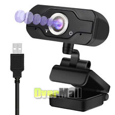 USA 1080P HD USB Webcam Camera Laptop Autofocus Video With Microphone Calling A+