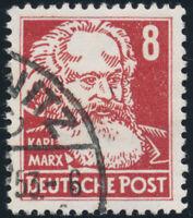 DDR 1953, MiNr. 329 v XI G, sauber gestempelt, Fotoattest Paul, Mi. 900,-