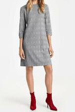 Taifun »Kleid mit Glencheck-Karo« schwarz gemustert. Gr. 40. NEU!!! UVP 69,99 €