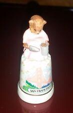 Souvenir from  San Francisco Thimble Fit4aqueen!