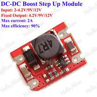 DC-DC Boost Voltage Converter 4.2V 5V 9V 12V 2A Mini Step Up Power Supply Module