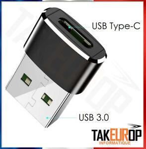 Adaptateur Convertisseur USB Type C vers USB 3.0 Connecteur OTG envoi rapide