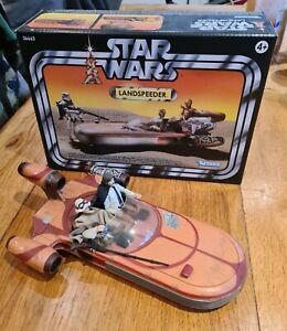 Star Wars Vintage Collection Land Speeder. 2011. Mint + Figures