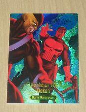 2016 Marvel Masterpieces Jusko Battle Spectra GEMS Punisher vs Daken BS-14 /99