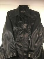 Wilson's Leather Womens Brown Leather Jacket Coat Size XL