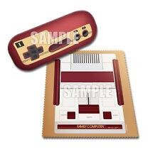 Famicom Family Computer Controller Glasses Case Cleaner Cloth Set Amiibo Promo