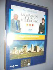 DVD N° 1 EL GRANDE STORIA DELL'UOMO VIAJE EN PREHISTORIA 100.000 AÑOS FA