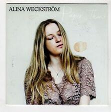 (GL52) Alina Weckstrom, Paper Thin - 2015 DJ CD