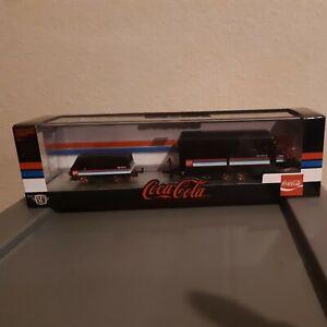 2021 M2 Coca Cola Chase Hauler, '64 Dodge A100 Vision Van and '66 Dodge Hemi MIB