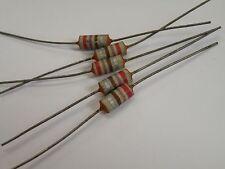 5 pcs Vintage Resistor Carbon Composition 1/2W 270 330 ohms SEE TEXT CB30