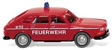 """Wiking H0: 086139 VW 411 """"Feuerwehr"""" Einsatzleitwagen"""