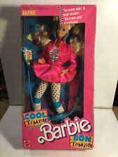 Vintage Barbie Cool Times Barbie By Mattel Mint In Sealed Box 1988