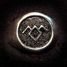 SALE Twin Peaks Black Lodge Owl Ring Silver/Black Size 10 David Lynch
