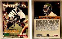 Lester Holmes Signed 1993 SkyBox Impact #378 Card Philadelphia Eagles Autograph