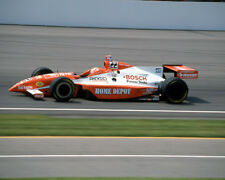 TONY STEWART #22 HOME DEPOT INDY 500 CAR ON TRACK 8X10 GLOSSY PHOTO #P12
