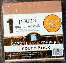 """Bazzill Basics: 1 Pound Pack 6x6"""" Paper Pad"""